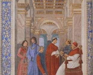 The Family of Ludovico Gonzaga — Андреа Мантенья