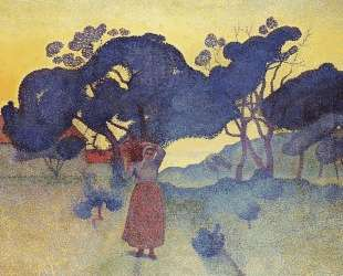 The Farm, Evening — Анри Эдмон Кросс