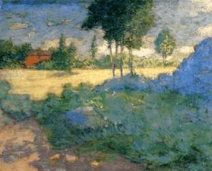 The Farmer's Lawn — Джулиан Олден Вейр