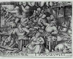 Кухня тучных — Питер Брейгель Старший