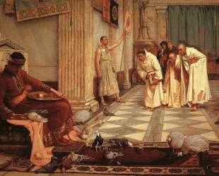Фавориты императора Гонория — Джон Уильям Уотерхаус