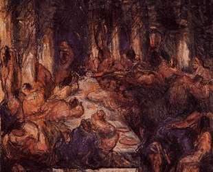 The Feast — Поль Сезанн