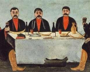 Кутеж пяти князей — Нико Пиросмани