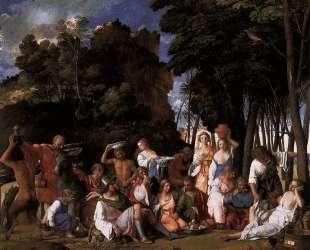Пир богов — Джованни Беллини