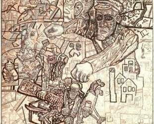 Февральская революция — Павел Филонов