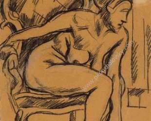 Женская фигура — Пётр Кончаловский