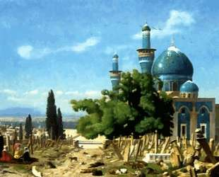 The Field of Rest Cemetary of the Green Mosque — Жан-Леон Жером