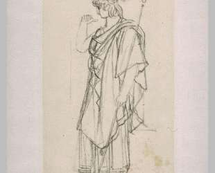 The figure of Orestes, standing draped — Пьер-Нарцисс Герен