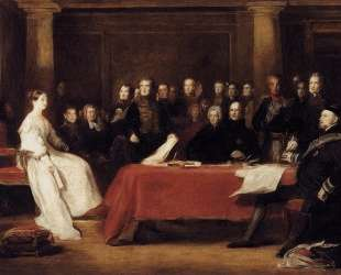 The First Council of Queen Victoria — Дейвид Уилки