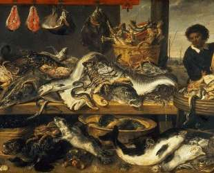 The Fish Market — Франс Снейдерс