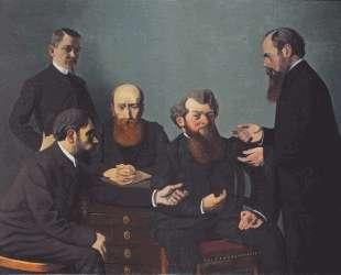 The Five Painters: Bonnard, Vuillard, Roussel, Cottet and Vallotton — Феликс Валлотон