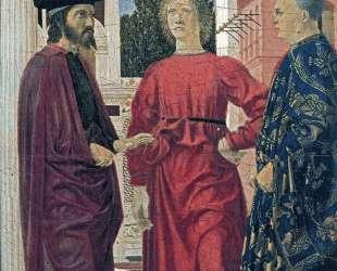 Бичевание Христа (деталь) — Пьеро делла Франческа