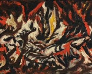Пламя — Джексон Поллок