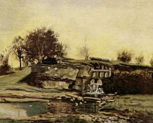 Плотина на Оптево — Гюстав Курбе