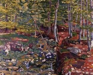 The Forest near Reichenbach — Фердинанд Ходлер