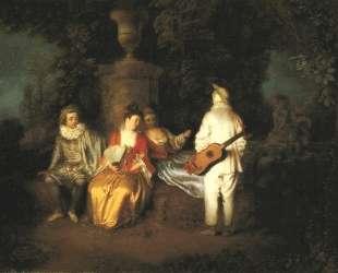 The Foursome — Антуан Ватто