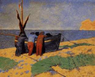 The Fourteenth of July at Etretat — Феликс Валлотон