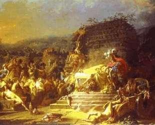 Похороны Патрокла — Жак Луи Давид