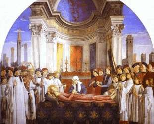 The Funeral of St. Fina — Доменико Гирландайо