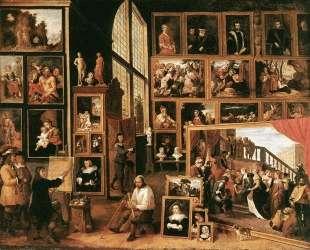 The Gallery of Archduke Leopold in Brussels — Давид Тенирс Младший
