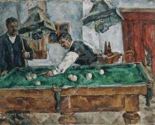 Игра на бильярде — Пётр Кончаловский