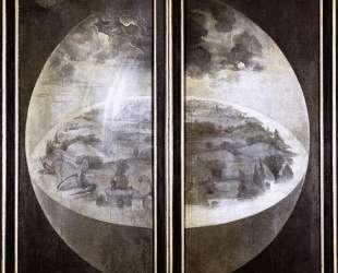 Сад земных наслаждений (реверс) — Иероним Босх