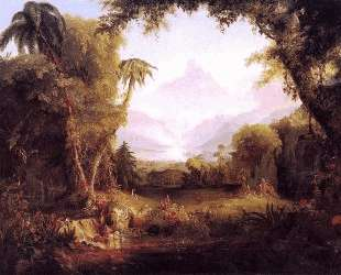 The Garden of Eden — Томас Коул