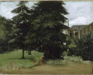 Сад аббатства Лос-де-Лилль — Гюстав Курбе