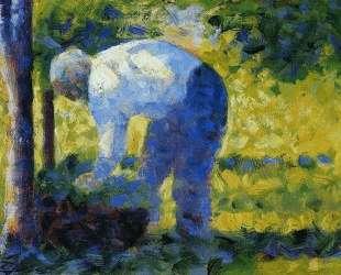 Садовник — Жорж Сёра