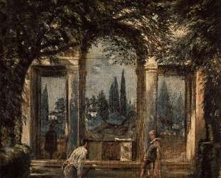 The Gardens of the Villa Medici in Rome — Диего Веласкес