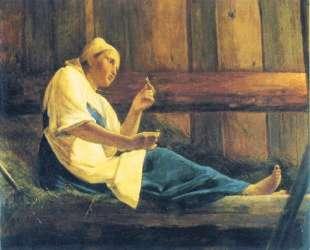 The Girl in the Hayloft — Алексей Венецианов