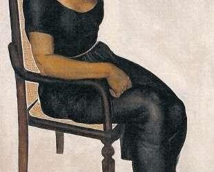 Девушка на стуле — Александр Дейнека