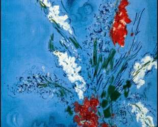 Гладиолусы — Марк Шагал