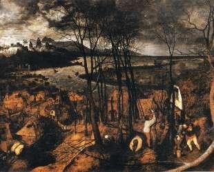 Пасмурный день — Питер Брейгель Старший