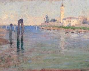 The Gondolier, Venice — Ги Роуз