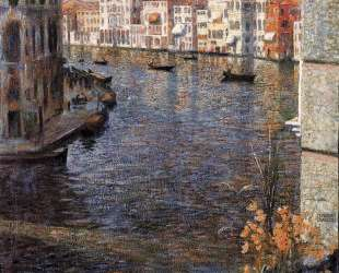 The Grand Canal in Venice — Умберто Боччони