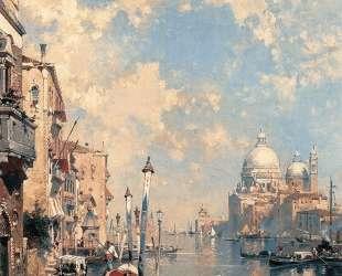 Большой канал в Венеции — Клод Моне