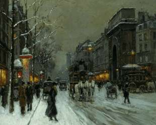 The Grands Boulevards Porte and Port Denis Martin — Эдуард Кортес