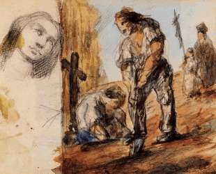 The Gravediggers — Поль Сезанн