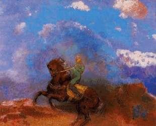 The Green Horseman — Одилон Редон