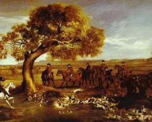 The Grosvenor Hunt — Джордж Стаббс