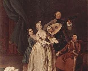 Семейный концерт — Пьетро Лонги