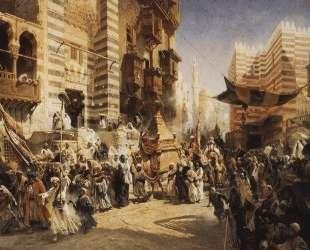 Перенесение священного ковра в Каире — Константин Маковский