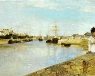 The Harbor at Lorient — Берта Моризо