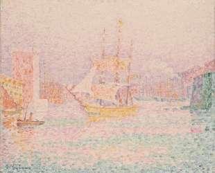 The Harbour at Marseilles — Поль Синьяк