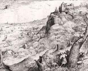 Охота на зайца — Питер Брейгель Старший