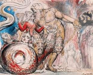 Блудница и гигант — Уильям Блейк