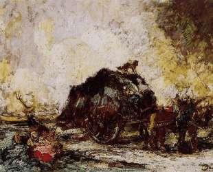 The Hay Card — Адольф Жозеф Тома Монтичелли