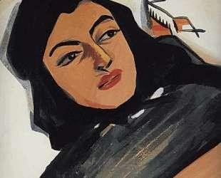 The head of the girl (Mariam Tazahulahyan) — Мартирос Сарьян