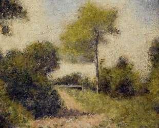 Изгородь (Поляна) — Жорж Сёра